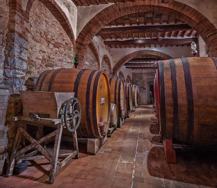 Wine Cellers at Rocca di Castagnoli