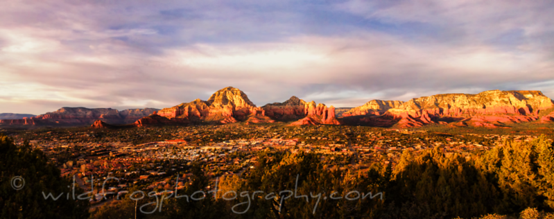 Sedona Arizona at Sunset