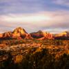 Sedona Arizona at Sunset