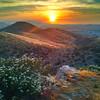 Sunset over Menifee California