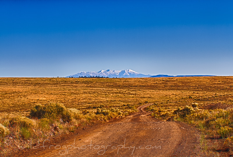 Open Plains in Carson National Forest New Mexico