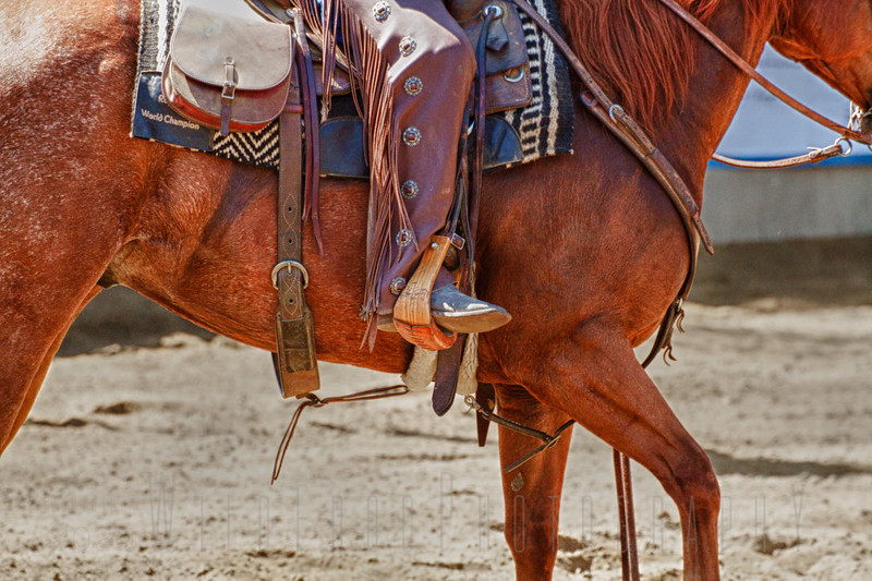 Side view - Boots and Spurs