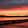 Flathead Lake - Sunset - Montana