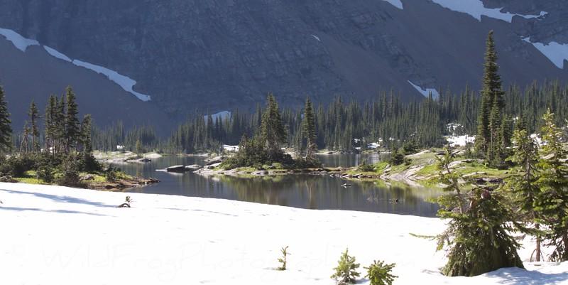 Hidden lake,Glacier National park