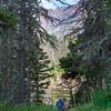 Hiking in Glacier National Park, Montana