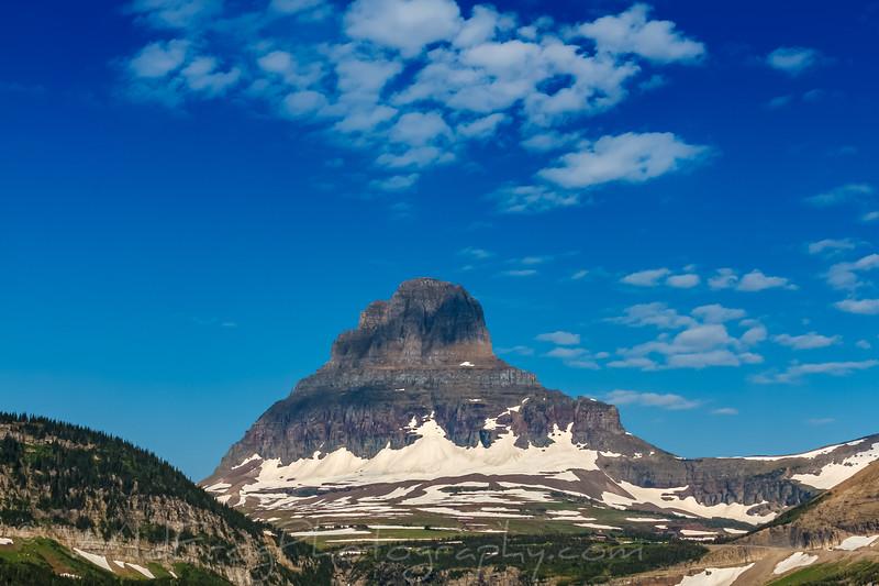 Clements Mountain above Logans Pass