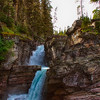 St.Mary Falls, Glacier National Park, Montana