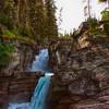 St.Mary Falls, Glacier National Park, Montana