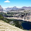 Hidden Lake looking back to logans Pass,Glacier National Park