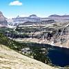 Hidden Lake looking back to logans Pass,Glacier National Park