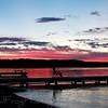 Sunset, Flathead Lake,Montana