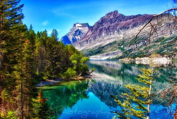 Going to the Sun Mountain Glacier National Park,Montana
