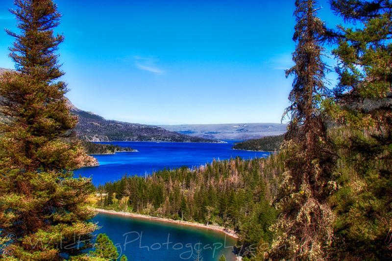 Saint Mary Lake Glacier National Park
