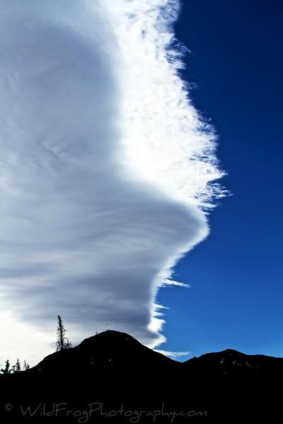Afternoon Sky - East Glacier-Glacier National Park