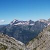 Looking down into Avalanche Creek,Glacier National Park