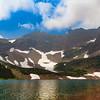 Otokomi Lake at the end of Rose Creek Hike