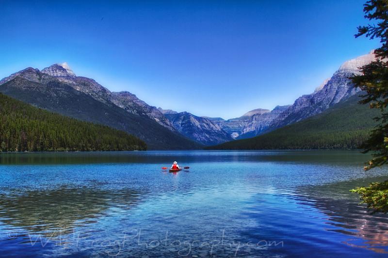 Lake Bowman - Glacier National Park - West Glacier