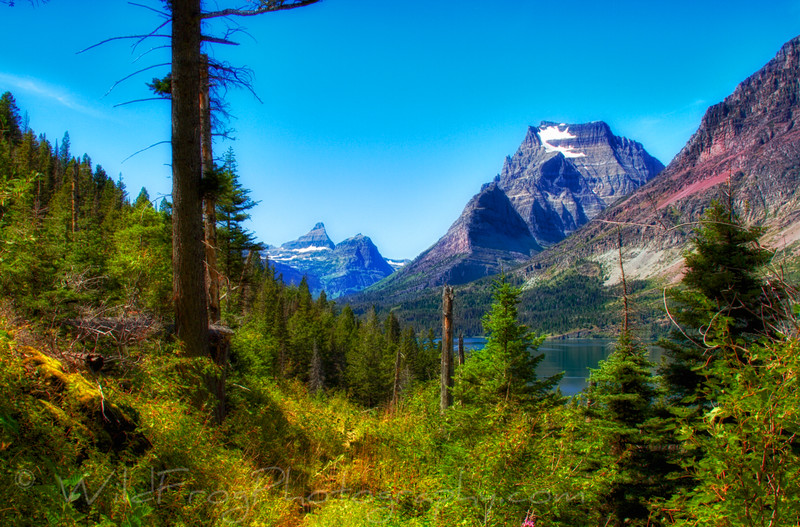 Going to the Sun Mountain,Glacier National Park,Montana
