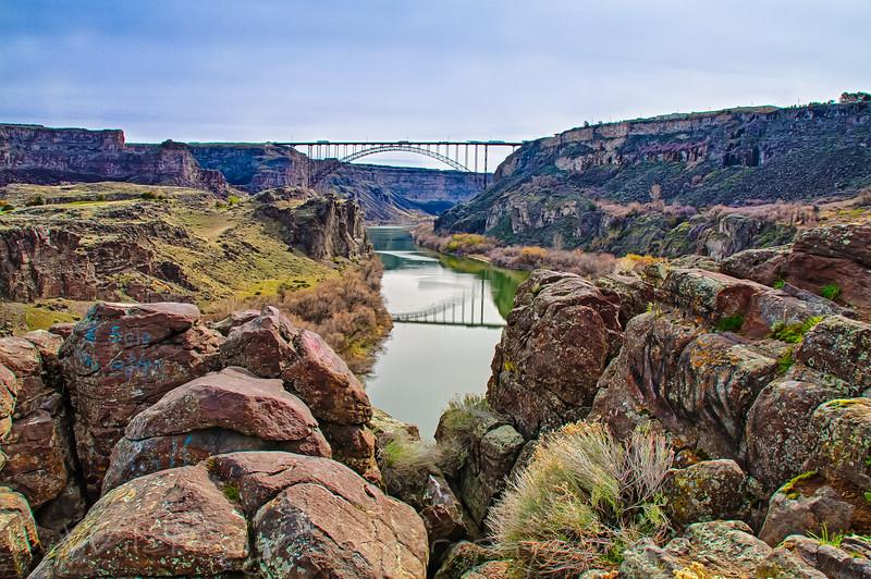 Perrine Bridge, Twin falls Idaho