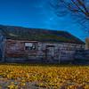Cat house in fall - Idaho