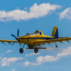 Air tractor at work