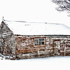 Cat house in the winter time - Idaho