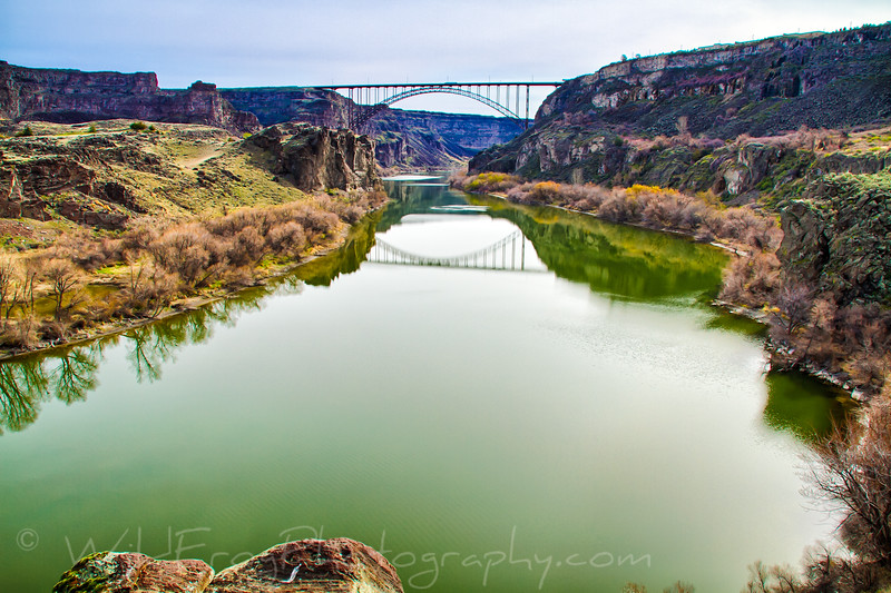 Perrine Bridge, Twin fFlls.