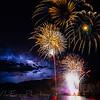 Fireworks and Lightning. Montana