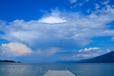 Summers day on Flathead Lake,Montana