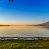 Sunset on Flathead lake Montana