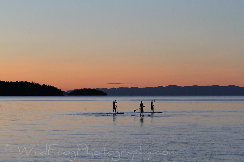 Sunset on Flathead Lake - Finley Point - Montana