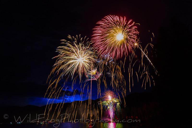 Lightning and Fireworks, Montana