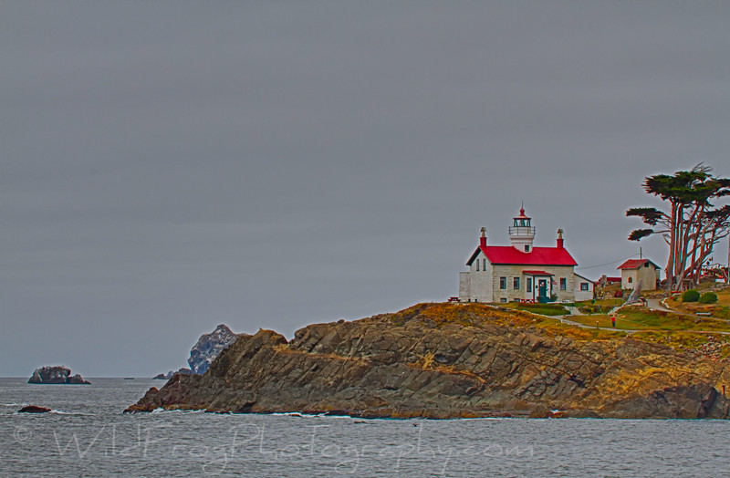 Battery Point Lighthouse Crescent City - California