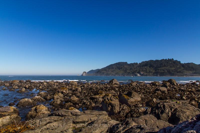 California coast line, Redwood National Park
