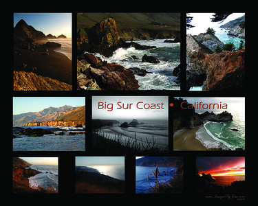 Big Sur Coast Collage ver1