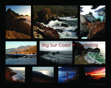 Big Sur Coast Collage ver1