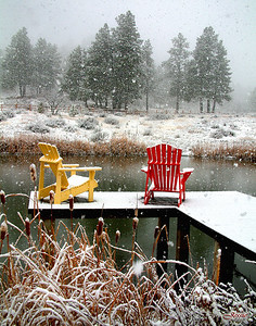 First Snowfall - Pagosa Springs, Colorado ORDER #8112718S