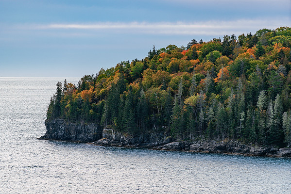Coastal landscape of Acadia