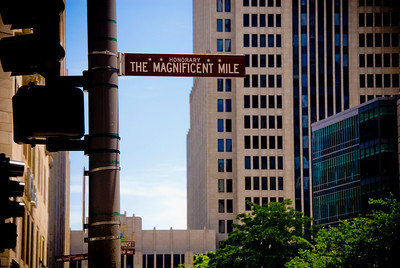 The Magnificent Mile (Michigan Ave.)