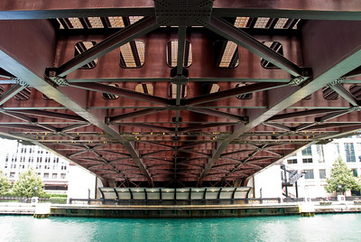 Bridge along the Chicago River