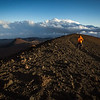 Volcano summit run, Hawaii