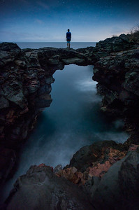Stargazing from the volcanic arches of Hawaii