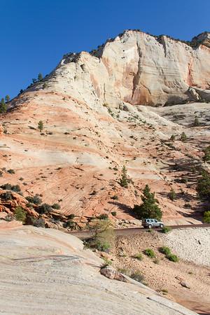 East park sandstone cliffs.
