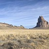 Shiprock and lava dike wall