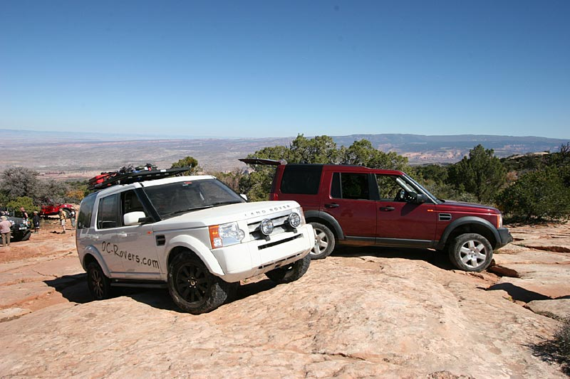 2 of the 4 LR3's in Moab this year.