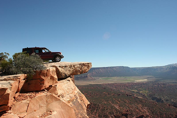 Moab - LR National Rally - Day 2- Top of the World