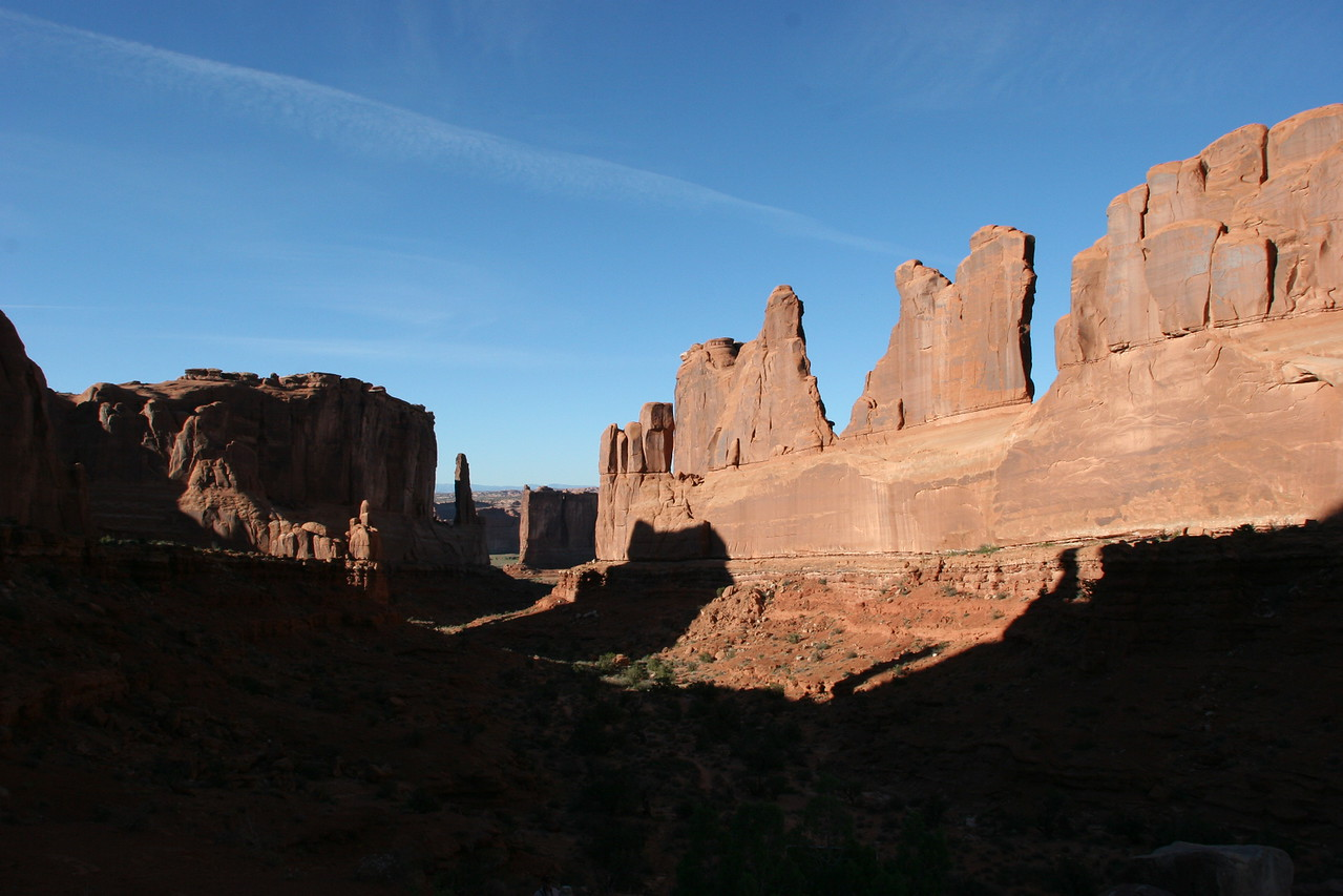 """the """"Skyline"""" canyon in Arches National Park"""