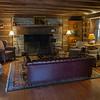Original fireplace....very tall and deep. <br /> <br /> The Inn at Vaucluse Spring. Stephens City, Viriginia. May 2015, digital.
