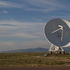 The VLA consists of 27 dishes, each 25 meters in diameter and weighing 230 tons!