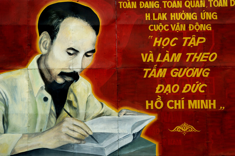 Hồ Chí Minh born Nguyễn Sinh Cung (19 May 1890 – 3 September 1969) was a Vietnamese Communist revolutionary and leader who was prime minister (1946–1955) and president (1945–1969) of the Democratic Republic of Vietnam (North Vietnam). He formed the Democratic Republic of Vietnam and led the Viet Cong during the Vietnam War until his death.